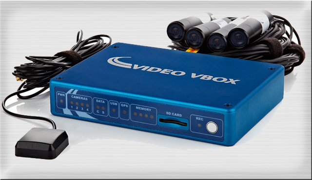 video-vbox-pro - A high-end in-car video system aimed primarily at motorsport professionals and driving instructors.