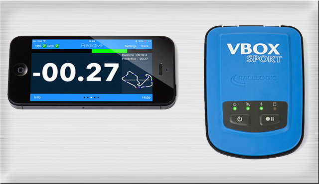 vbox-sport - A lightweight, portable data logger that can be used in any vehicle and environment to measure performance or lap times.